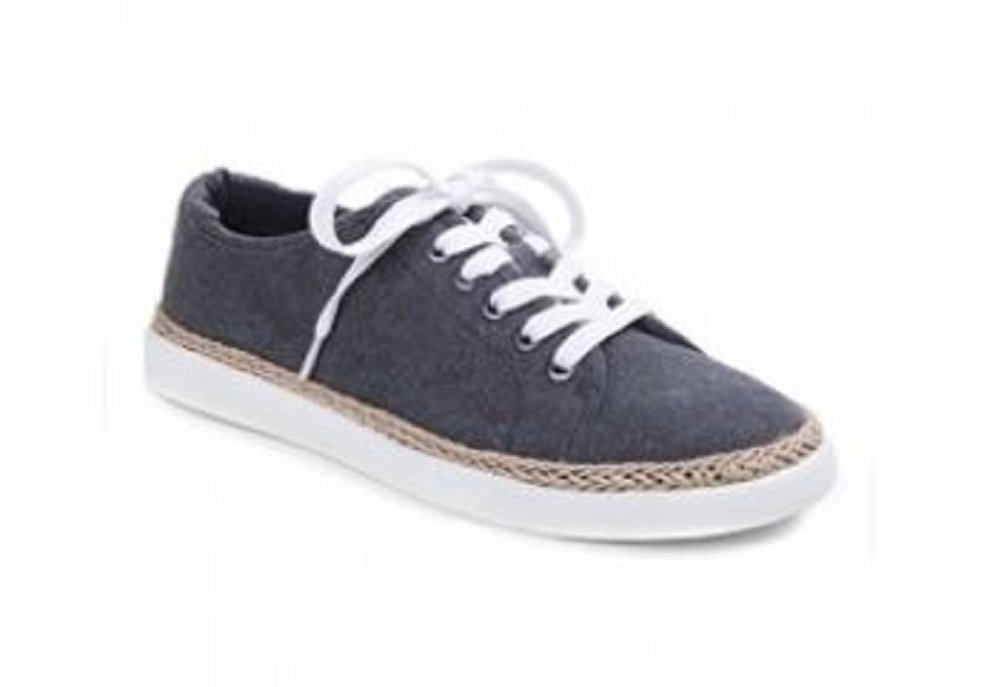 Vionic Sunny Hattie - Womens Canvas Sneaker Black - 11 Medium