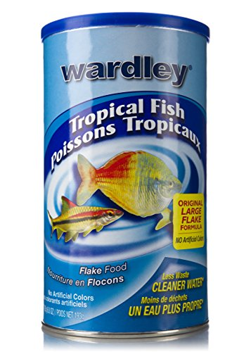 Wardley Tropical Fish Food Flakes - 6.8oz