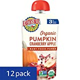 Earths Best Organic Stage 3, Pumpkin, Cranberry & Apple, 4.2 Ounce Pouch (Pack of 12) (Packaging May Vary)