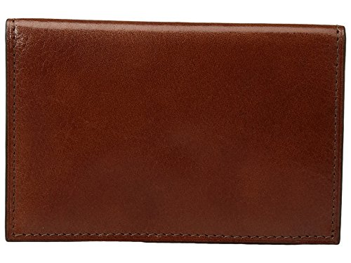 Bosca Men's Old Leather Collection - 8 Pocket Credit Card Case Amber One -