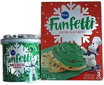 Pillsbury Christmas Cookies.Amazon Com Variety Pack Pillsbury Funfetti Holiday