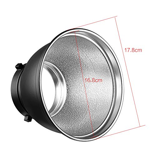 Soonpho 7'' Standard Reflector Diffuser Lamp Shade Dish with 10° /30°/ 50° Degree Honeycomb Grid White Soft Cloth for Bowens Mount Studio Strobe Flash Light Speedlite by soonpho (Image #6)