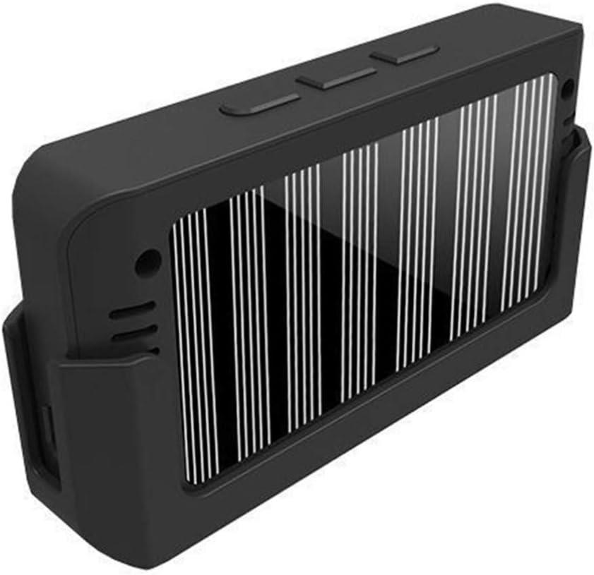Schwarz 5Bar Solar-Reifendruck/überwachungssystem Drahtloser Reifendrucksensor mit Bildschirmanzeige f/ür 6-Reifen-Lieferwagen 122Psi Wakauto 8