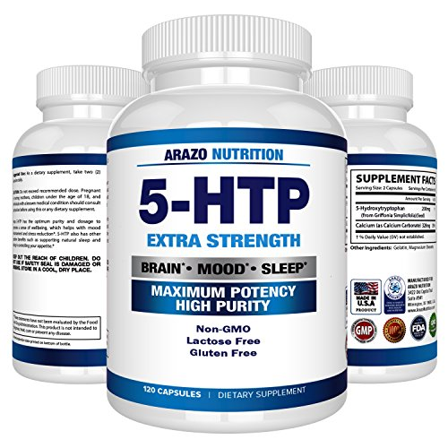 5 HTP 200 Supplement Capsules Nutrition product image