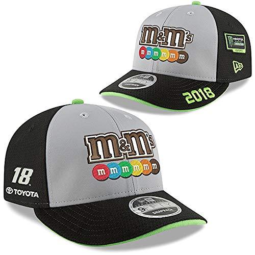 NewEra Kyle Busch 2018 M&M's Monster Energy NASCAR Cup Series Playoffs 9Fifty Snapback (Kyle Busch Hat)