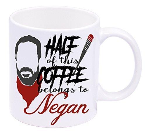 Half of this Coffee Belongs to Negan - Coffee Mug (Carl Costume)