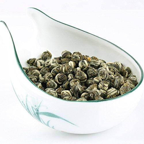 Aseus Bai Xiang sets 2017 new tea jasmine tea (quality), Dragon Ball Hydrangea, longevity yuan Luzhou 175g canned by Aseus-Ltd