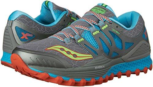 Running slime Xodus blue Women''s Grey Saucony grey Shoes Iso xtpnwqR