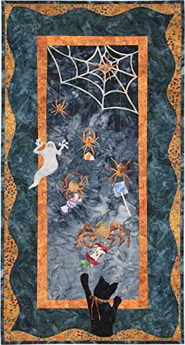 McKenna Ryan~Once in a Boo Moon~Countdown to Candy~Halloween~Pre-Cut Laser Applique Kit w/Fabric~Pattern