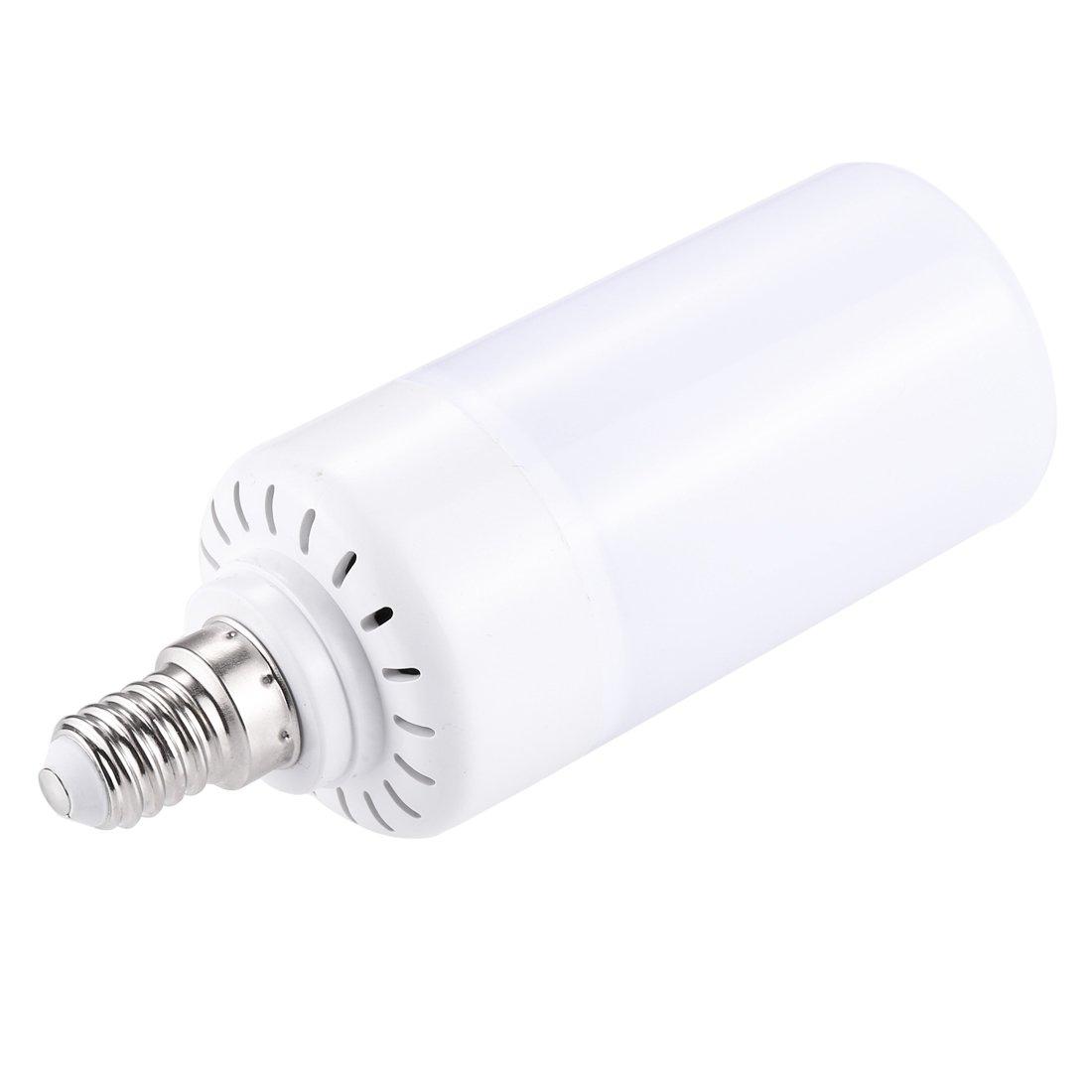 Jasmin FS LED bulb E14 6W 99 LEDs SMD 2835 146 LM 2 Modes Warm White Light Flicker Flame Corn Light Bulb, AC 85-265V LED Light Corn light