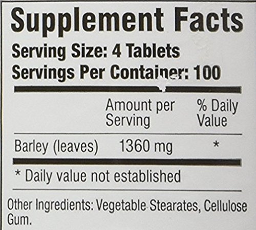 Green Supreme Barley Power - 400 Tablets (Pack of 2) by Green Supreme