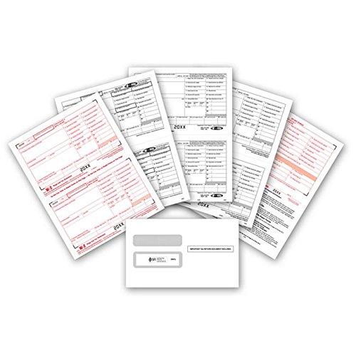 Wholesale 2019 W2 Tax Forms Bundle (4-Part Set) with W-2 Envelopes - 10 Pack for Laser Printers supplier