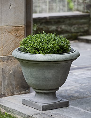 Campania International P-325-NA Greenwich Urn, Natural Finish by Campania International