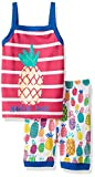 Hatley Girls' 100% Organic Cotton Tank P...
