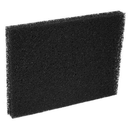 Black Reticulated Pond and Aquarium Filter Media Foam-2 Pack 6
