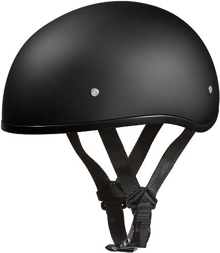 Daytona Helmets Motorcycle Half Helmet Skull Cap
