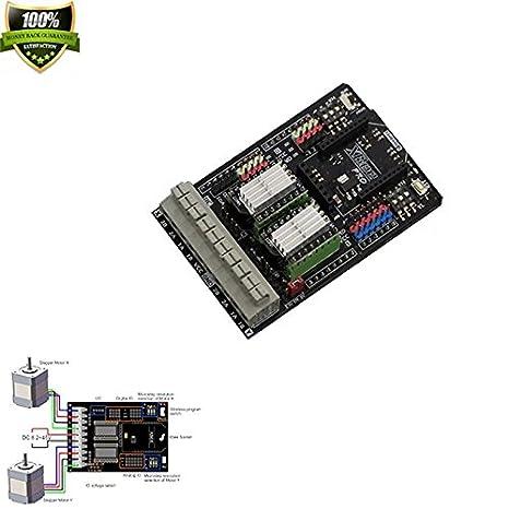 Amazon com: Dual Bipolar Stepper Motor Shield For Arduino