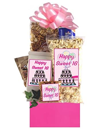 Image Unavailable Not Available For Color Sweet 16 Birthday Gift Basket