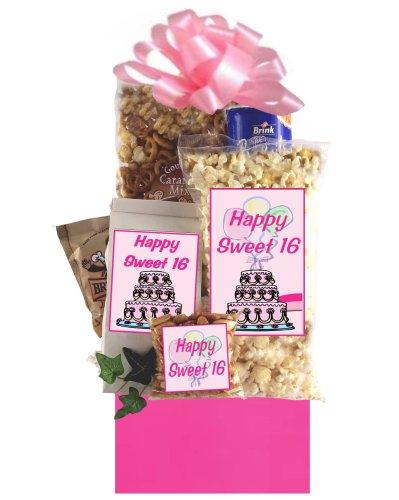 Sweet 16 Birthday Gift Basket