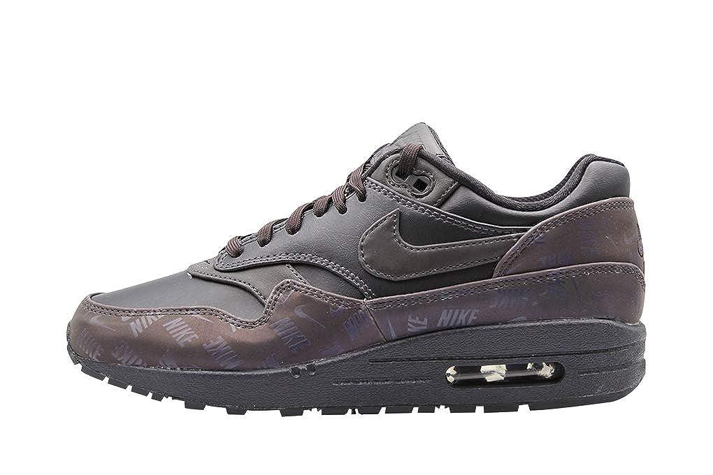 MultiCouleure (Oil gris Oil gris Oil gris 001) Nike WMNS Air Max 1 LX, Chaussures de Fitness Femme 35.5 EU