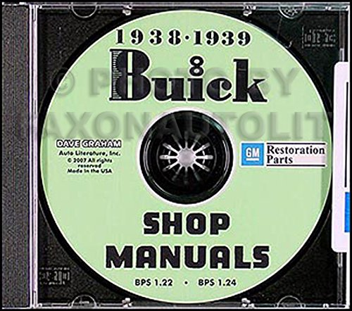 1938-1939 Buick CD-ROM Repair Shop Manual