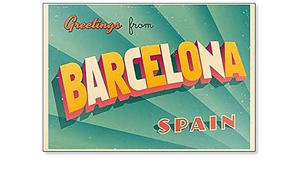 Imán para nevera de Barcelona y España: Amazon.es: Hogar