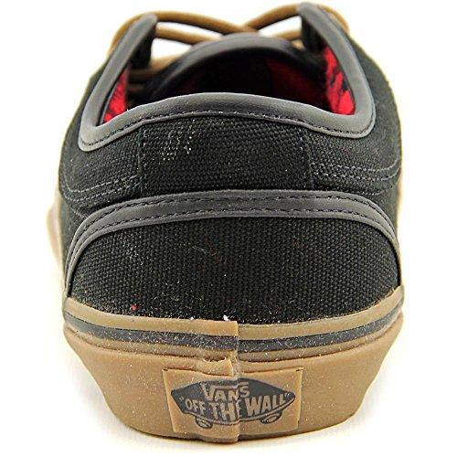 Vans Herren Chukka Low Canvas Flanell Skate Sneakers Black/ Gum/ Flannel