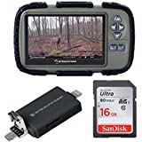 Stealth Cam SD Card Reader and Viewer with 4.3 LCD and iOS/iPhone/Android/USB Trail Camera Adapter Bundle
