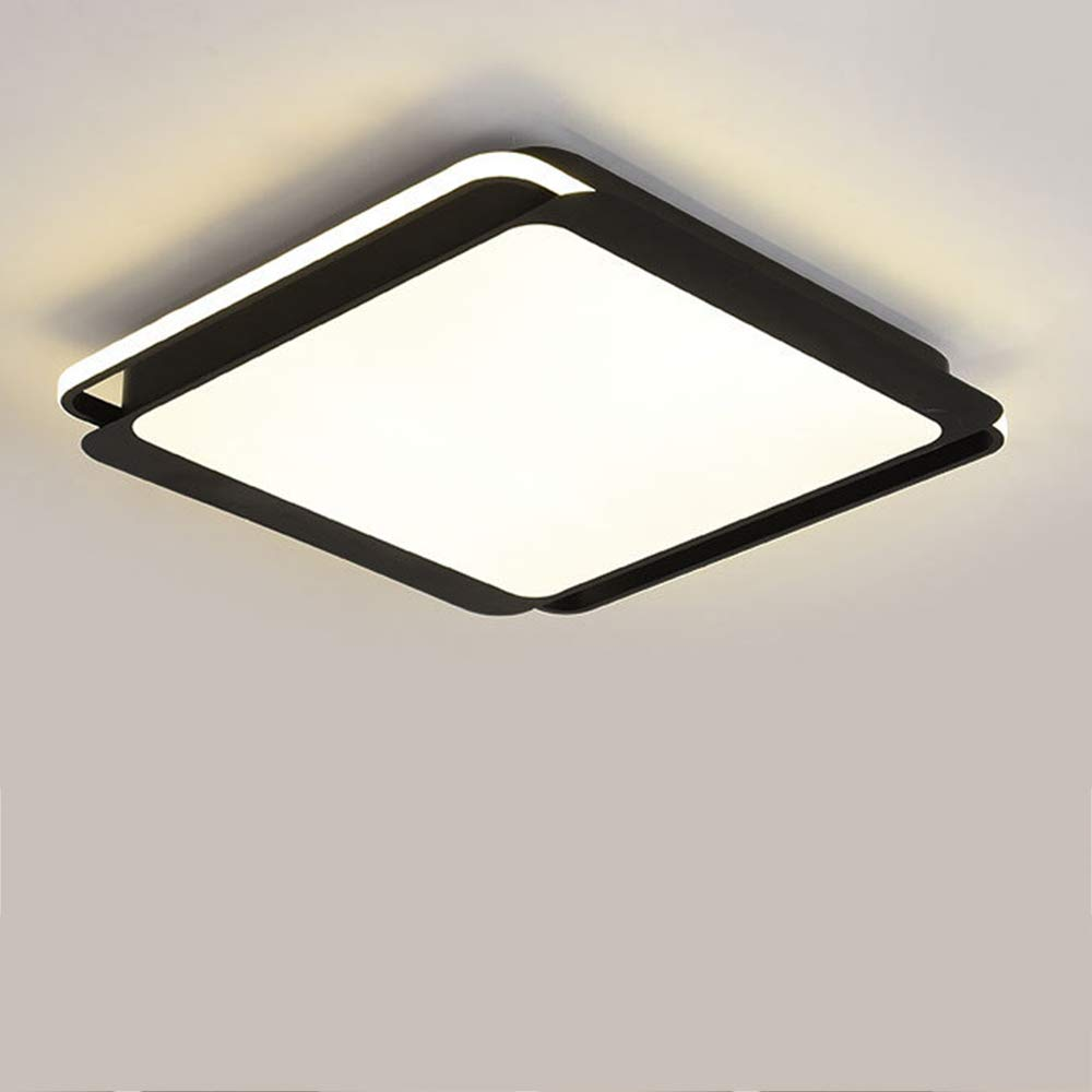LEDシーリングライトリモコン調光対応リビングルームフラッシュマウント照明器具寝室の装飾,Whitelight,65W B07S3KQG4Y
