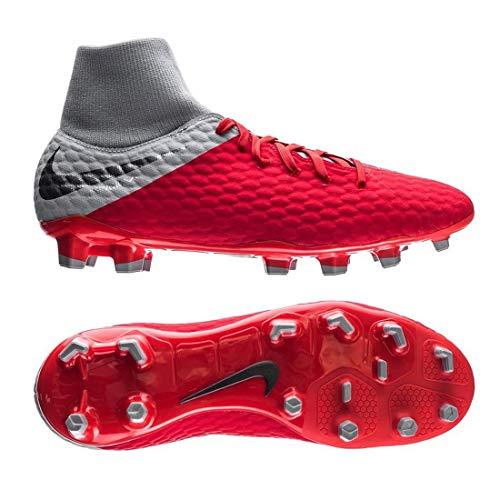 NIKE Hypervenom Phantom 3 Academy DF FG Soccer Cleat (Light Crimson) (Men