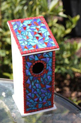 - Blue bird house Bluebird house mosaic birdhouse