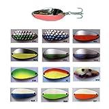 Acme C340/WM Little Cleo Fishing Bait, Watermelon, 3/4 oz