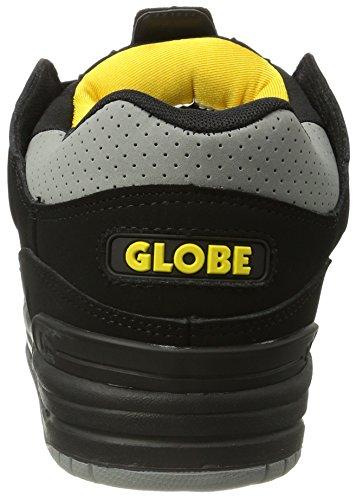 Noir Skateboard Fusion Jaune Chaussures Globe De Hommes noir Gris Pour w7YBnqdtx