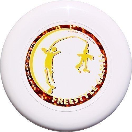 Discraft Skystyler 160g Freestyle Giochi Frisbee Trucco-disco bianco