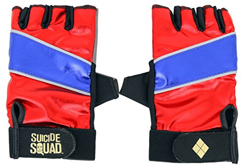Suicide Squad Harley Quinn Cosplay Accessory Two Glove Set]()