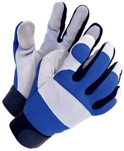 BDG 20-1-1200-M Split Leather Mechanics Glove Medium