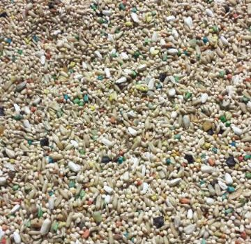 15LB OF ABBA 1600 PARAKEET AND BUDGIE SEED MIX by ABBA SEED