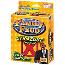 Family Feud Strike Out Card Game( Endless Games)[FAMILY FEUD STRIKE OUT CARD GA][Other]