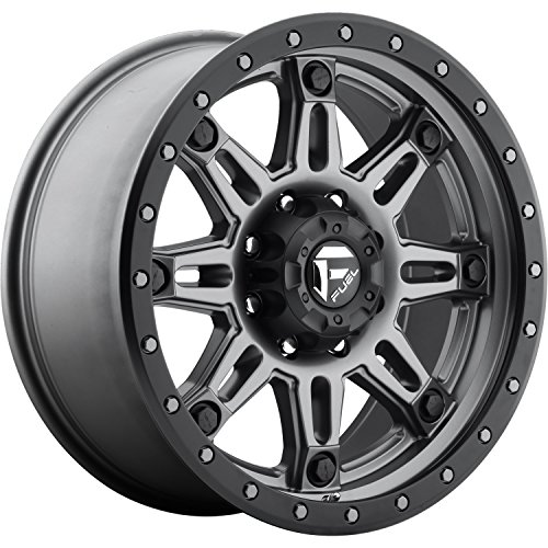 - Fuel Hostage III gun metal Wheel with Painted Finish (17 x 9. inches /5 x 5 inches, 1 mm Offset)