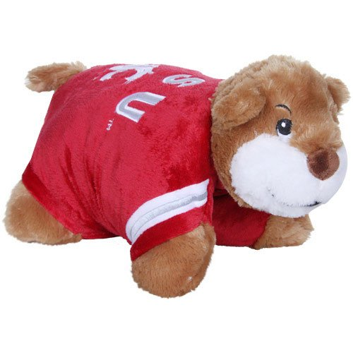 Fabrique Innovations NCAA Pillow Pet, Washington State Cougars