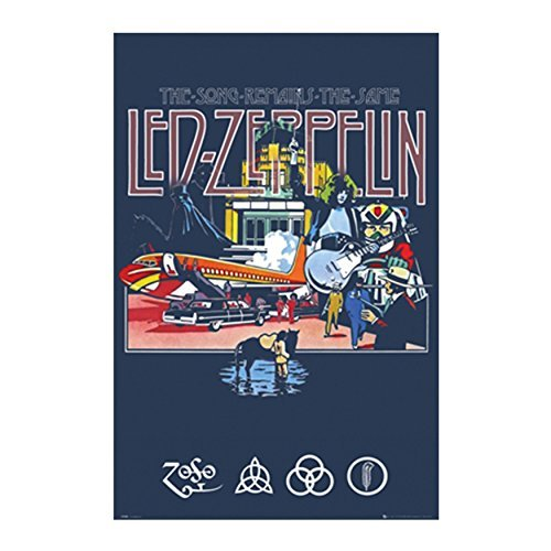 Led Zeppelin - Remains Poster  PSA034066