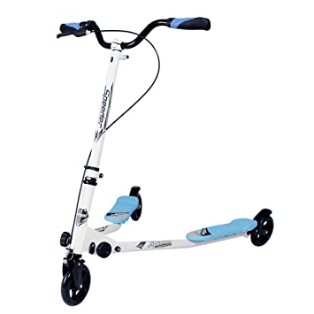 IMMEK Scooter Patinete de Tres Rueda Plegable Ajustable ...
