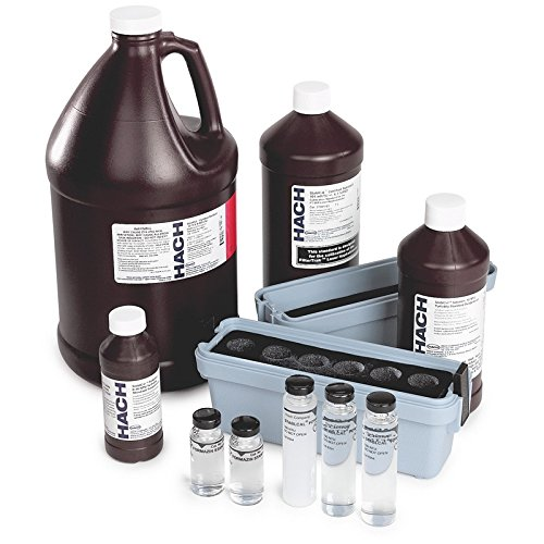 Hach 2971205 StablCal Turbidity Standards Calibration Kit, 2100Q Portable Turbidimeter, Sealed Vials by Hach Company
