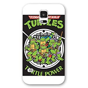 Customized White Frosted Samsung Galaxy S5 Case, Teenage Mutant Ninja Turtles(TMNT) Samsung S5 case, Only fit Samsung Galaxy S5