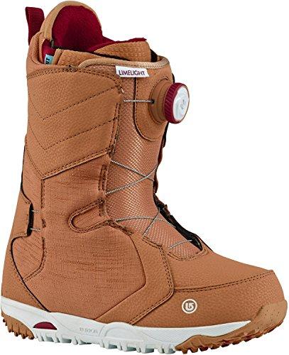 Lock Boa Snowboard Boots (Burton Limelight BOA Snowboard Boots Womens Sz 7)