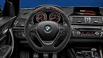 Genuine Bmw M Performance Steering Wheel Alcantara With Carbon