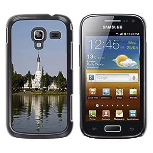 Paccase / SLIM PC / Aliminium Casa Carcasa Funda Case Cover - Chinese Garden - Samsung Galaxy Ace 2 I8160 Ace II X S7560M