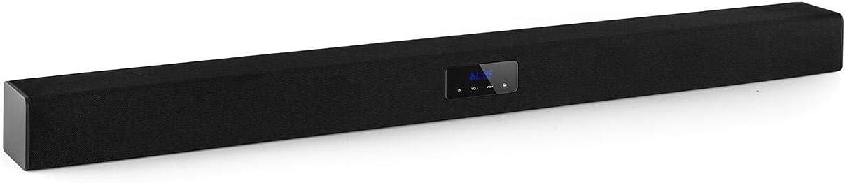 auna Areal Bar 150 - Barra de Sonido , Bluetooth , USB , microSD , 2 x AUX , 40 W RMS , Control táctil , Pantalla LED , Mando a Distancia , Negro