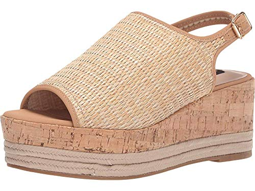 - STEVEN by Steve Madden Women's Ciera Sandal Natural Multi 7.5 M US