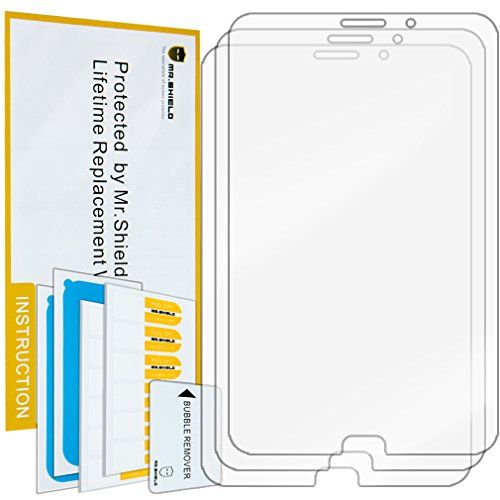 Shield Glare Anti - Mr.Shield for Samsung Galaxy Tab 4 8.0 8 inch Anti-Glare Screen Protector [3-Pack] with Lifetime Replacement